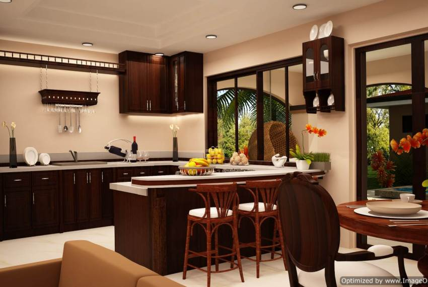 Low cost home kitchen
