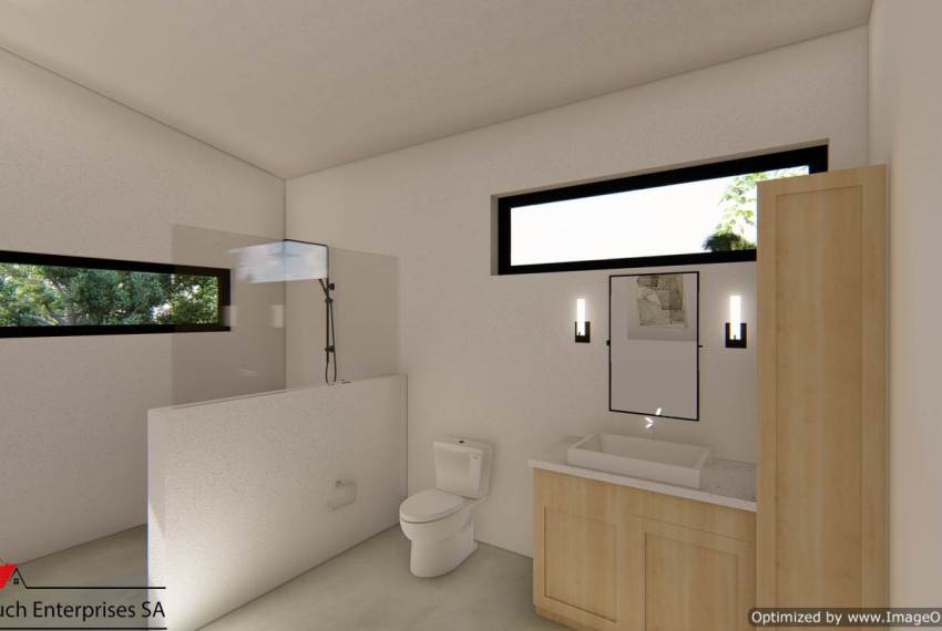 Bathroom energy efficient