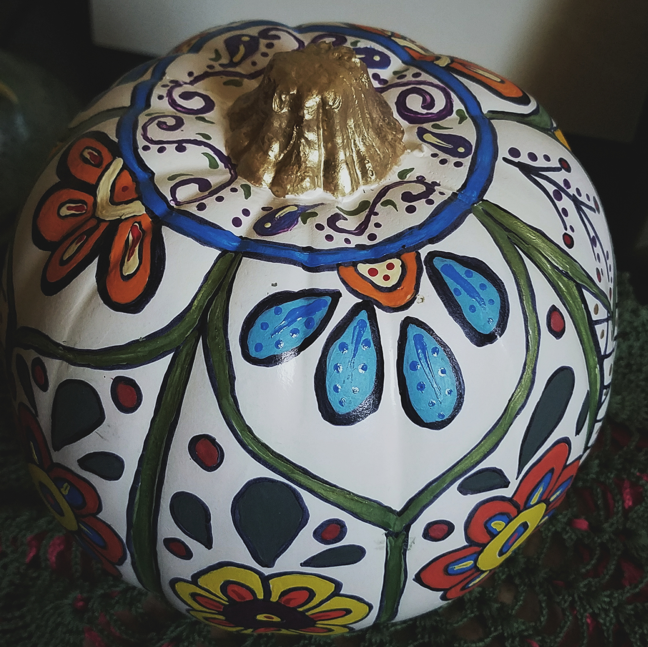 The Clever Painted Pumpkin