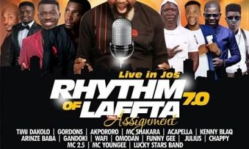 Rhythm of Laffta 7.0- The Assignment