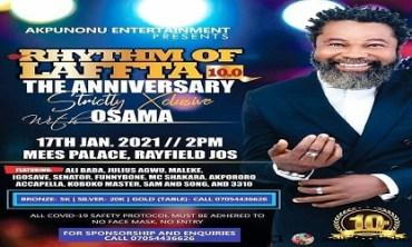 """Rhythm of Laffta 10.0- """"The Anniversary"""""""