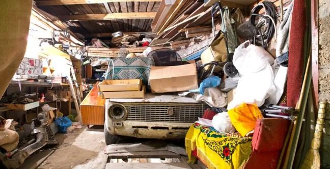 Bild Garage voll
