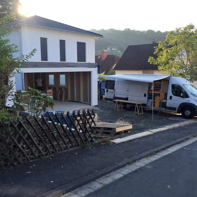 Montage Fink Garage Frankfurt