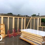 Fink Garage Brieselang / Brandenburg - widriges Wetter