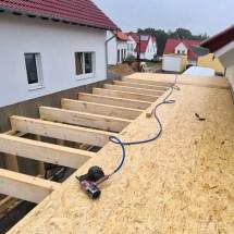 Fink Garage Dachbeplankung