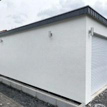 Fink Garage Holzständerbauweise Bausatz Seitenansicht