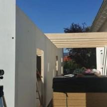 Fink Garage - Dachsparren für Garage und Überdachung zum Haus