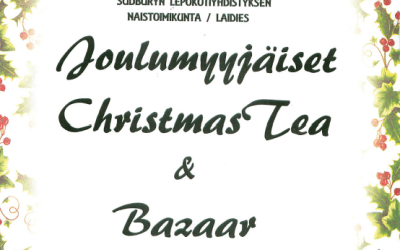 Ladies Christmas Tea & Bazaar