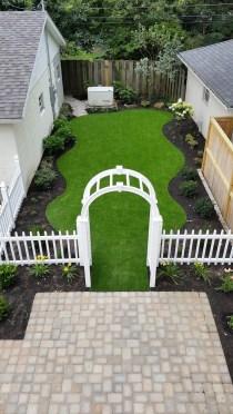 Backyard renovation in Clintonville, OH