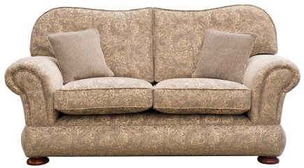 Alexandra Small Sofa with Bun Foot