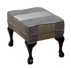 Queen Anne Footstool Sofie [Gold Collection]