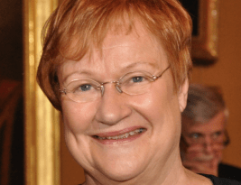 Former Finnish President, Ms. Halonen, Speaks about Women Power!