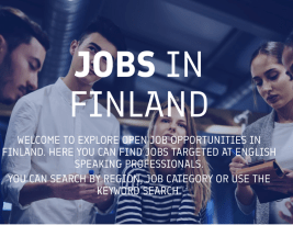 Finland Is Looking for Foreign Expert Workers