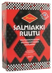 Halva Salmiakki Ruutu Salty Licorice Box 250 G