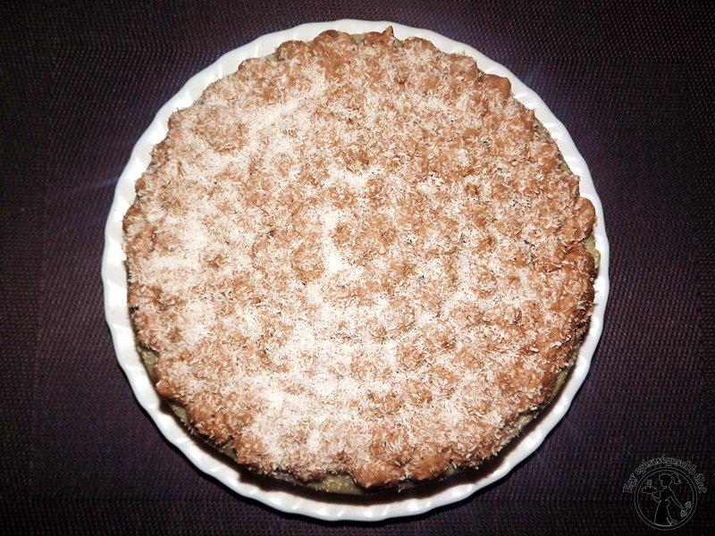 kókuszkrémes torta cukormentesen