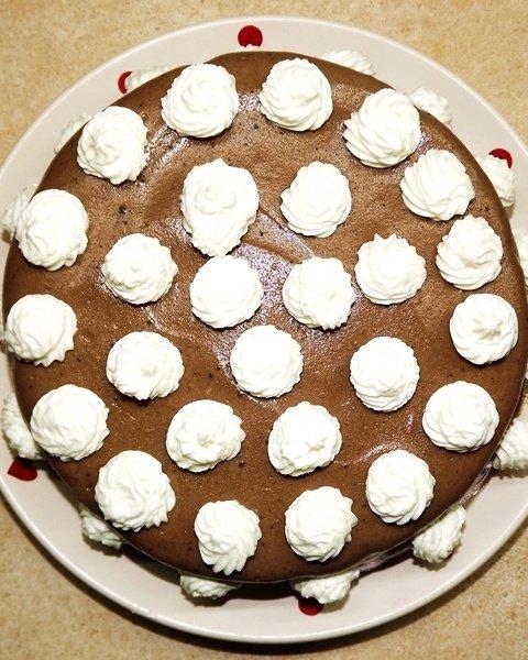 karobos torta cukormentes