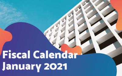 Fiscal Calendar – January 2021