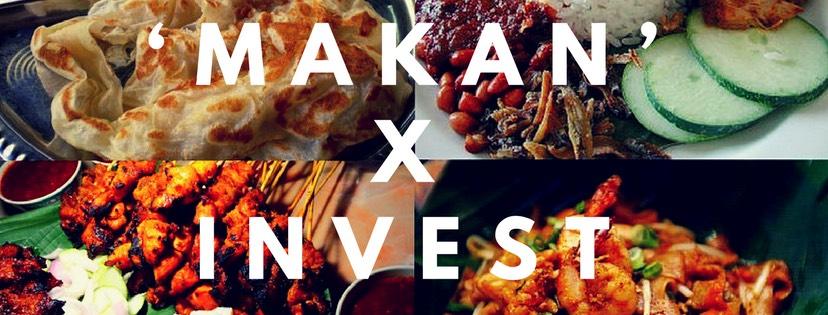 3种健康'Makan'食谱的投资习惯