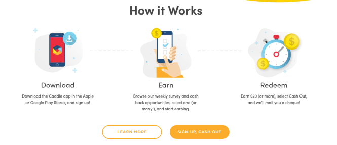best money making apps - caddle