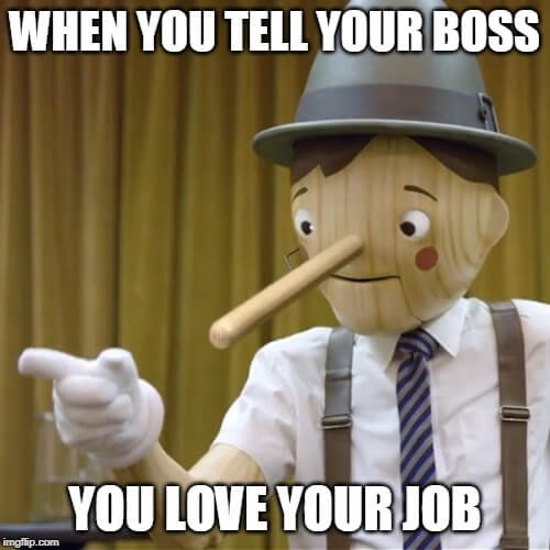 i hate my job meme love my job