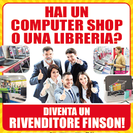 Hai un Computer Shop o una Libreria? Registrati e diventa un RIVENDITORE FINSON!