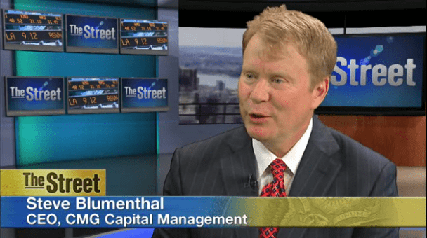 Steve Blumenthal, CEO, CIO, CMG Capital Management Group, on theStreet with Gregg Greenberg