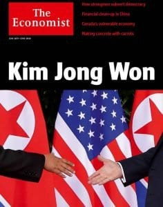 Kim Jong Won The Economist See PR Week in Review Finsquared