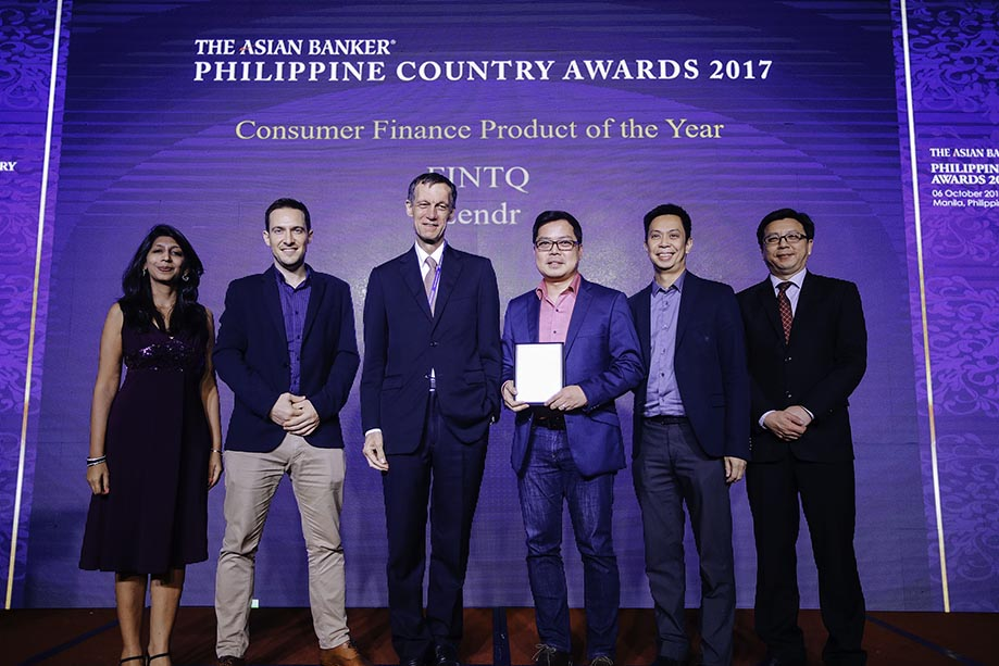 Lendr recognized as best consumer finance product in PH for 2017