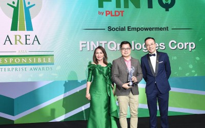 FINTQ's KasamaKA wins at the Asia Responsible Enterprise Awards 2018