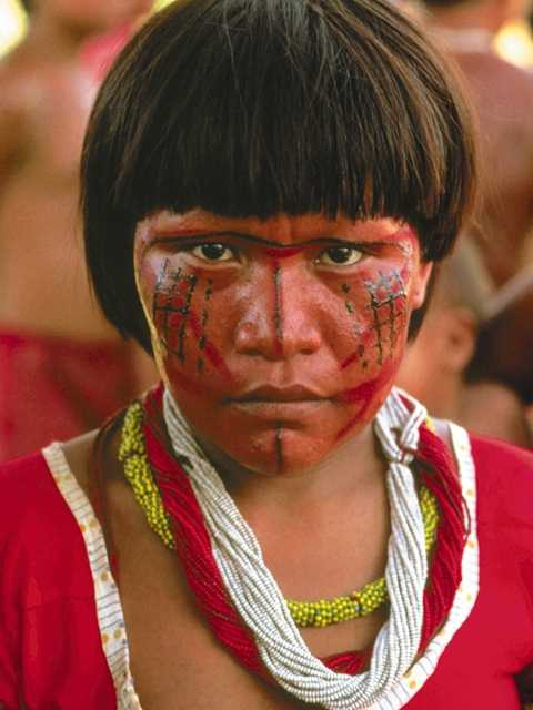 Mais de 400 mil indios moram no Brasil