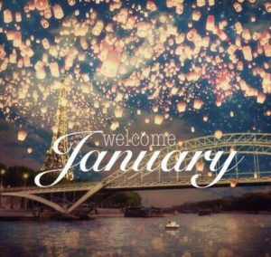 who said january is a long month