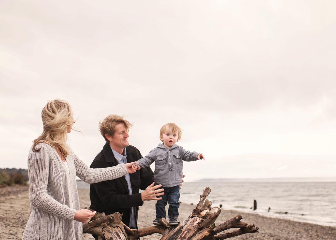 Golden Gardens Seattle Family Photographer