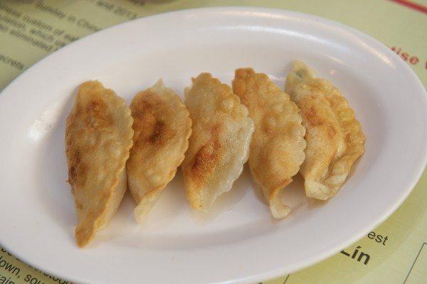 Chop Chop restaurant. 43 Mitchell Street, Glasgow. Menu food with owner Jian Wang