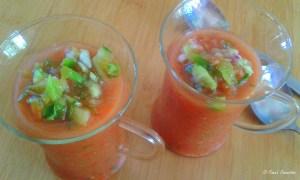 Gazpacho – easy peasy!