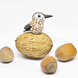polymerclay, bird, nutcracker, fimo