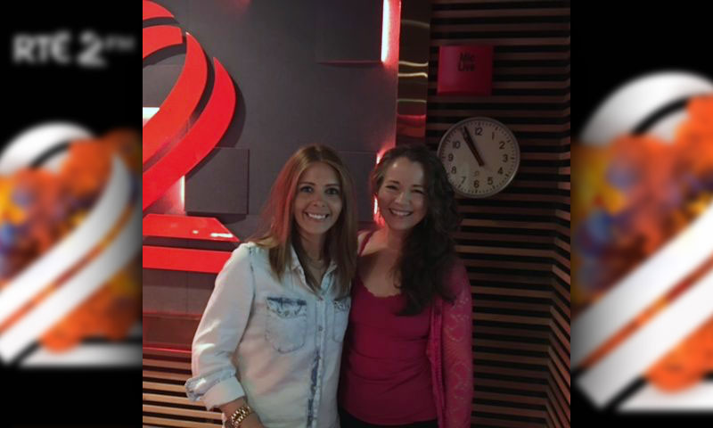 Fionnuala Gill on the Nicky Byrne Show
