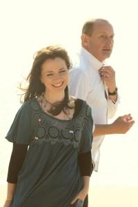Fionnuala Gill with Davey Arthur