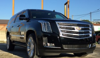 Cadillac Escalade 6.2 V8 Platinum ESV Nera