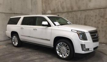 Cadillac Escalade 6.2 V8 Platinum ESV Bianca