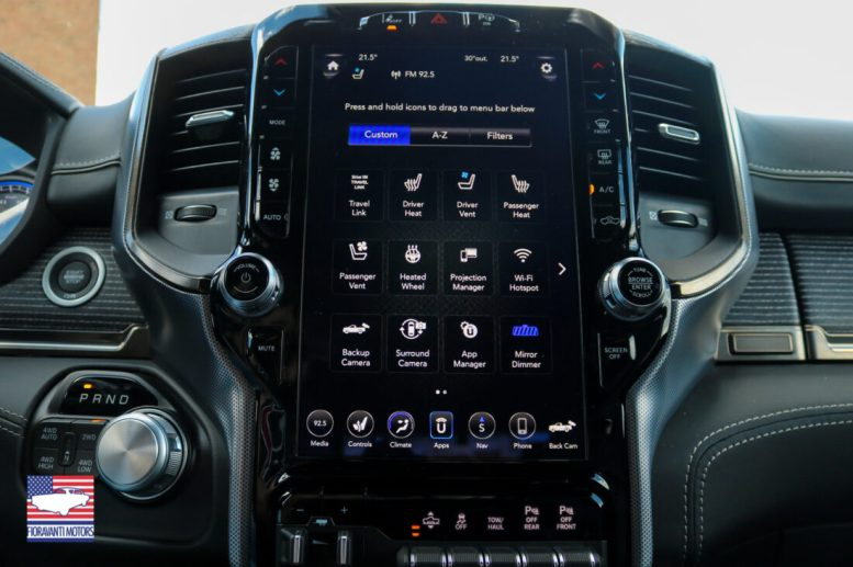 Dodge Ram Fioravanti Motors schermo