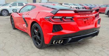 Corvette Red Pictures