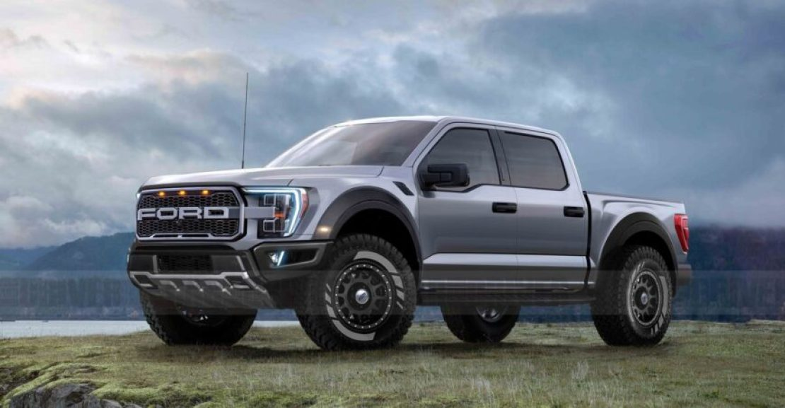 ford f raptor rendering