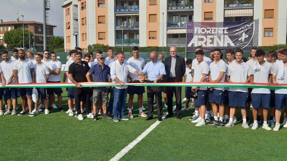 Inaugurato il nuovo campo della Fiorente Arena