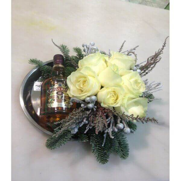FLOWERS WITH CHIVAS