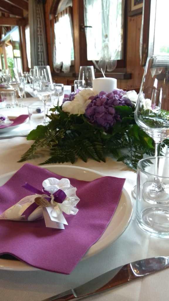 fiori matrimonio, laghetto delle valli, viola