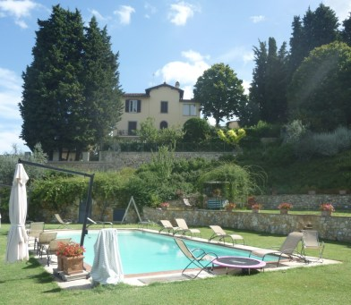 Giardino privato Bigallo Bagno a Ripoli-FI
