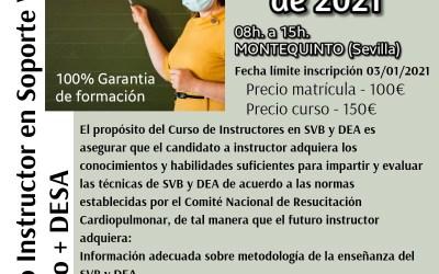 I EDICIÓN 2021 CURSO INSTRUCTOR EN SOPORTE VITAL BÁSICO Y DESA HOMOLOGADO POR SEMICYUC.