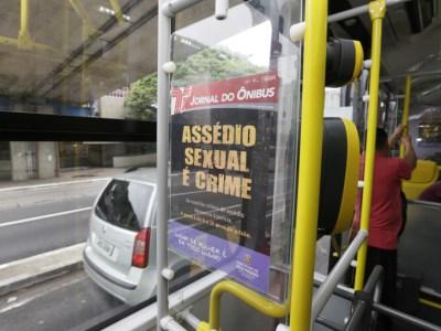 Denúncias de abuso sexual nos ônibus mais que triplicam em SP