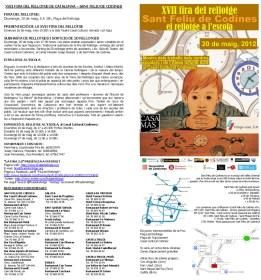 (Microsoft Word - XVII_Fira_del_Rellotge_de_Catalunya_2012_Infor