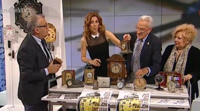 """La Fira del Rellotge al programa """"Els Matins de TV3"""""""